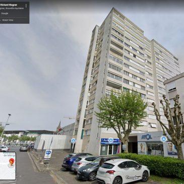 VENDU   Mérignac Centre, Parc du Château,                          T1 de 34m²+cave  130 000€ FAI